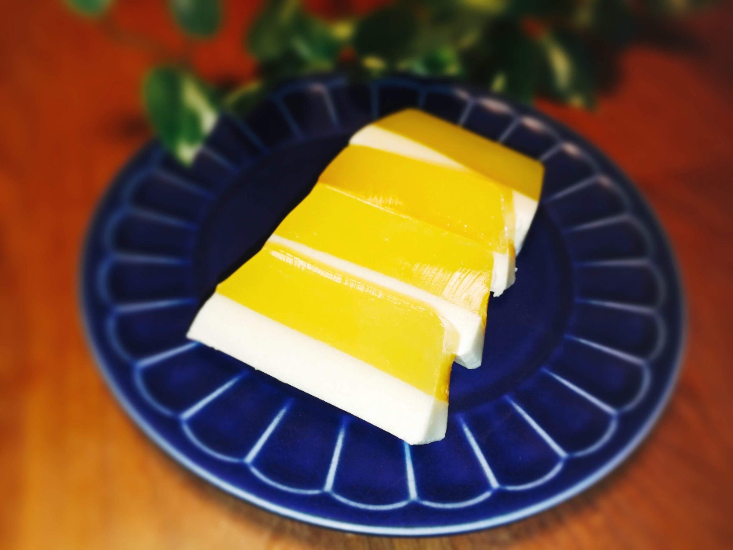 2層ゼリー パウンド型ケーキ