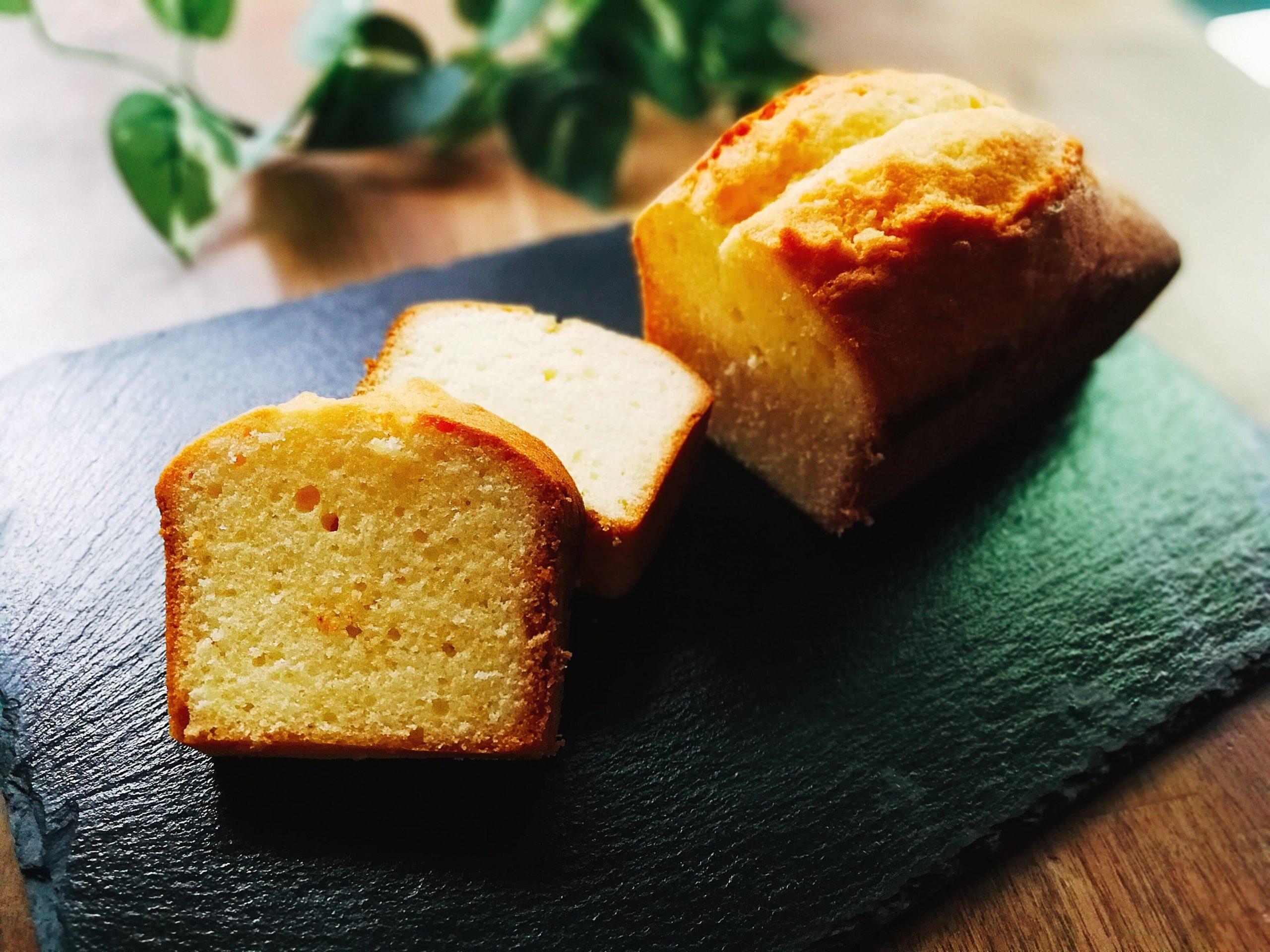 バニラパウンドケーキ 基本 レシピ