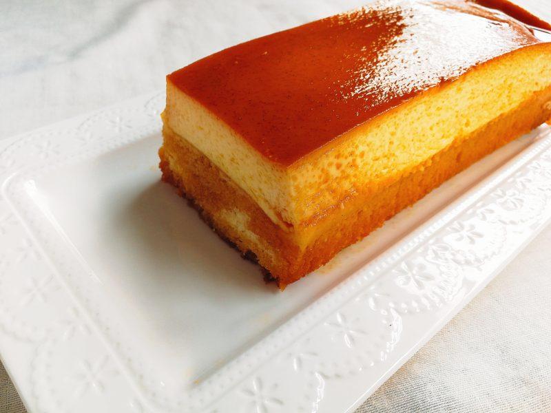 プリンケーキ レシピ パウンド型 生クリームなし