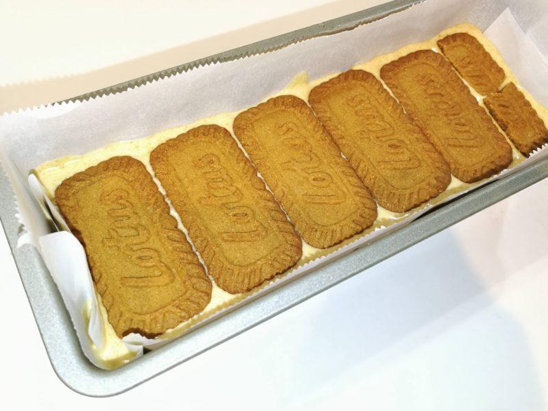 クッキーサンドアイス キャラメルアイス ロータスビスケット レシピ パウンド型