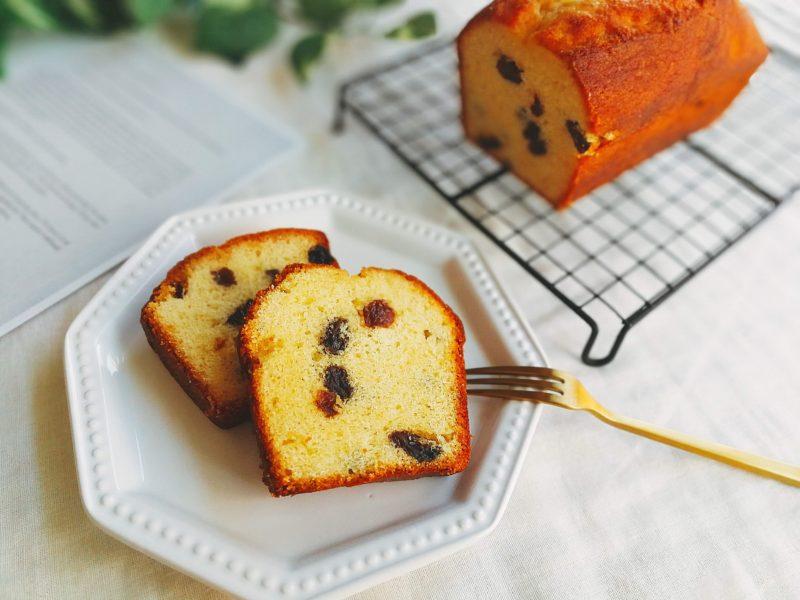 みりんパウンドケーキ レーズン レシピ
