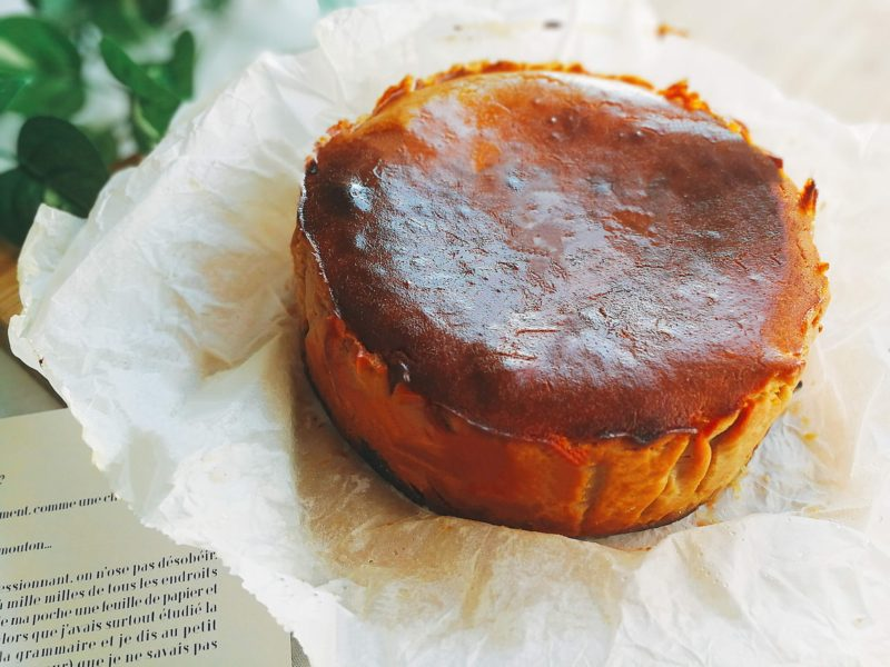 キャラメル マロン バスクチーズケーキ 栗 レシピ