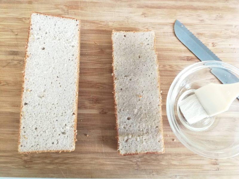 モンブランケーキ パウンド型 レシピ マロン 栗 レシピ